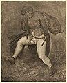 Manner of after Pieter Bruegel (I) - Dansende boer, eind 16de begin 17de eeuw.jpg