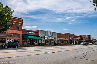 Mansfield, Texas - Downtown Mansfield, Texas