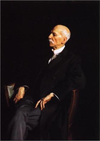 Manuel García (baritone) - Garcia, aged 100 by John Singer Sargent