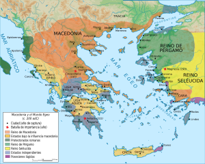 Map Macedonia 200 BC-es.svg