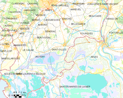 Map commune FR insee code 30258.png