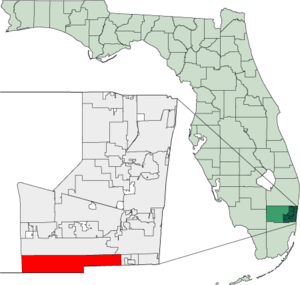 Map of Florida highlighting Miramar.png