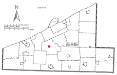 Map of McKean, Erie County, Pennsylvania Highlighted.png