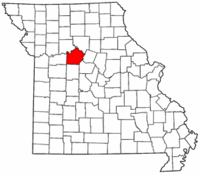 Map of Missouri highlighting Saline County.png
