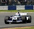 Marc Gene - Williams FW26 during practice for the 2004 British Grand Prix (50831461116).jpg