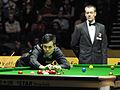 Marco Fu and Olivier Marteel at Snooker German Masters (DerHexer) 2013-02-03 02.jpg
