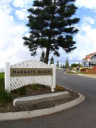 Margate, Queensland - Entrance to Margate Beach