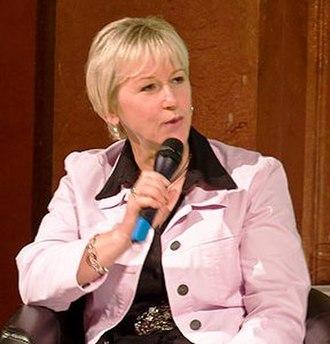 Minister for Culture (Sweden) - Image: Margot Wallström