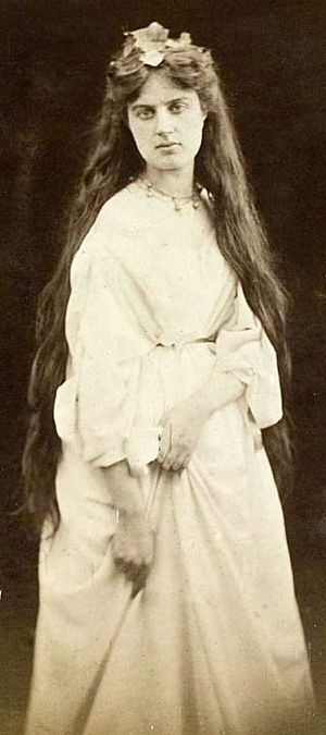 Marie Spartali Stillman - Marie Spartali Stillman in 1868. Photograph by Julia Margaret Cameron.