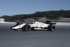Mazda Raceway Laguna Seca - Mario Andretti at Laguna Seca, 1991
