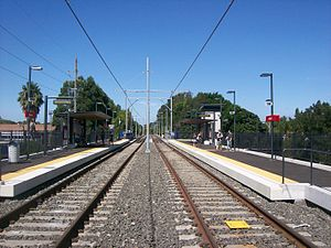 Dulwich Hill Line - Marion station in March 2014