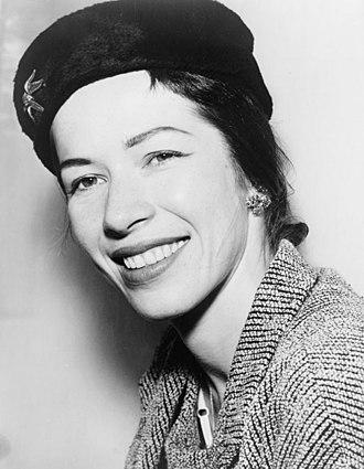 Marjorie Tallchief - Marjorie Tallchief in 1956