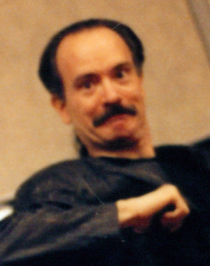 Mark Gruenwald - Mark Gruenwald, photographed at a comic convention in New York City in the early 1990s.