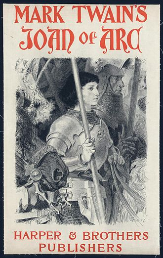 Cultural depictions of Joan of Arc - Image: Mark Twain's Joan of Arc