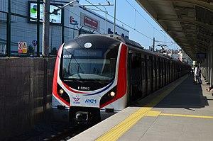 Marmaray - Marmaray train set at Ayrılık Çeşmesi.