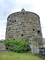Martello tower at Fort Denison, Sydney Harbour.jpg