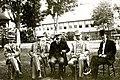 Martin Burrell, Thomas White, Robert Laird Borden, Wilfrid Laurier, George Foster 1912.jpg