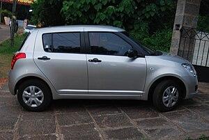 A Maruti Suzuki Swift 2008 model.