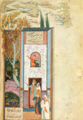 Marvels of creatures and Strange things existing - Al-qazwini - Mongooses on a tree.png