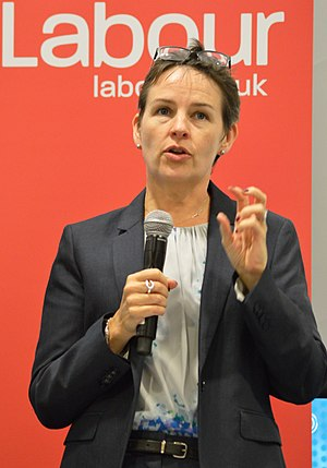 Mary Creagh - Creagh speaking at a 2016 Labour Party Conference fringe meeting