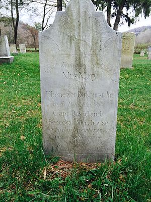 Charley Parkhurst - Tombstone of Mary Parkhurst, mother of Charley Parkhurst, and wife of Ebenezer Parkhurst. Location, Broad Brook Cemetery in Sharon, Vermont.