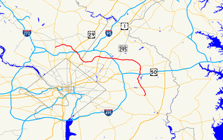 Maryland Route 193 highway in Maryland, United States
