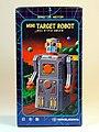 Masudaya – Tin Wind Up – Mini Target Robot (ミニ ターゲット ロボット )– Gang of Five – Box Art.jpg