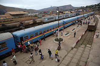 Matadi–Kinshasa Railway - Matadi train station, September 2015