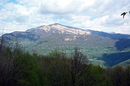 Panorama delle Valli del Natisone, ancora oggi a maggioranza linguistica slovena