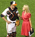 Matt Wieters and Heidi Watney.jpg