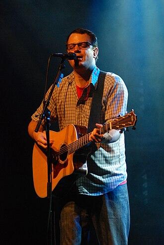 Matthew Good - Matthew Good performing acoustically in Fredericton, NB.