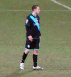 Matty Fryatt - Fryatt on 23 January 2010, prior to the match in which he suffered a broken jaw.