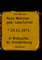 Matzner, Rosa.png