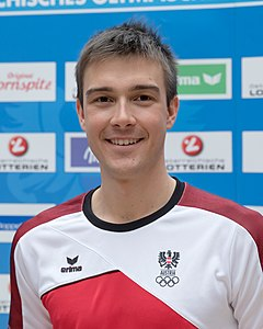 Max Hauke - Team Austria Winter Olympics 2018 crop.jpg