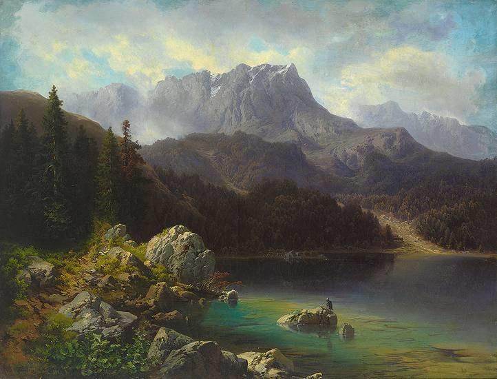 Max Wolfinger Zug-Spitz am Eib-See 1864.jpg
