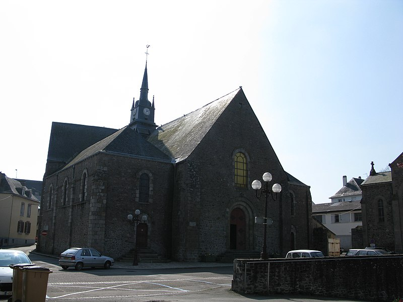 L'église Saint-Martin de Mayenne