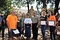 Mayor of Pasadena presents award to U.S. Fish and Wildlife Service (38047550251).jpg