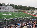 McConnell-Talbert Stadium playing field.JPG