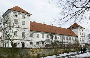 Meßkirch Castle - Western aspect seen from the Hofgarten