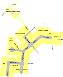 Plan of Meadowhall