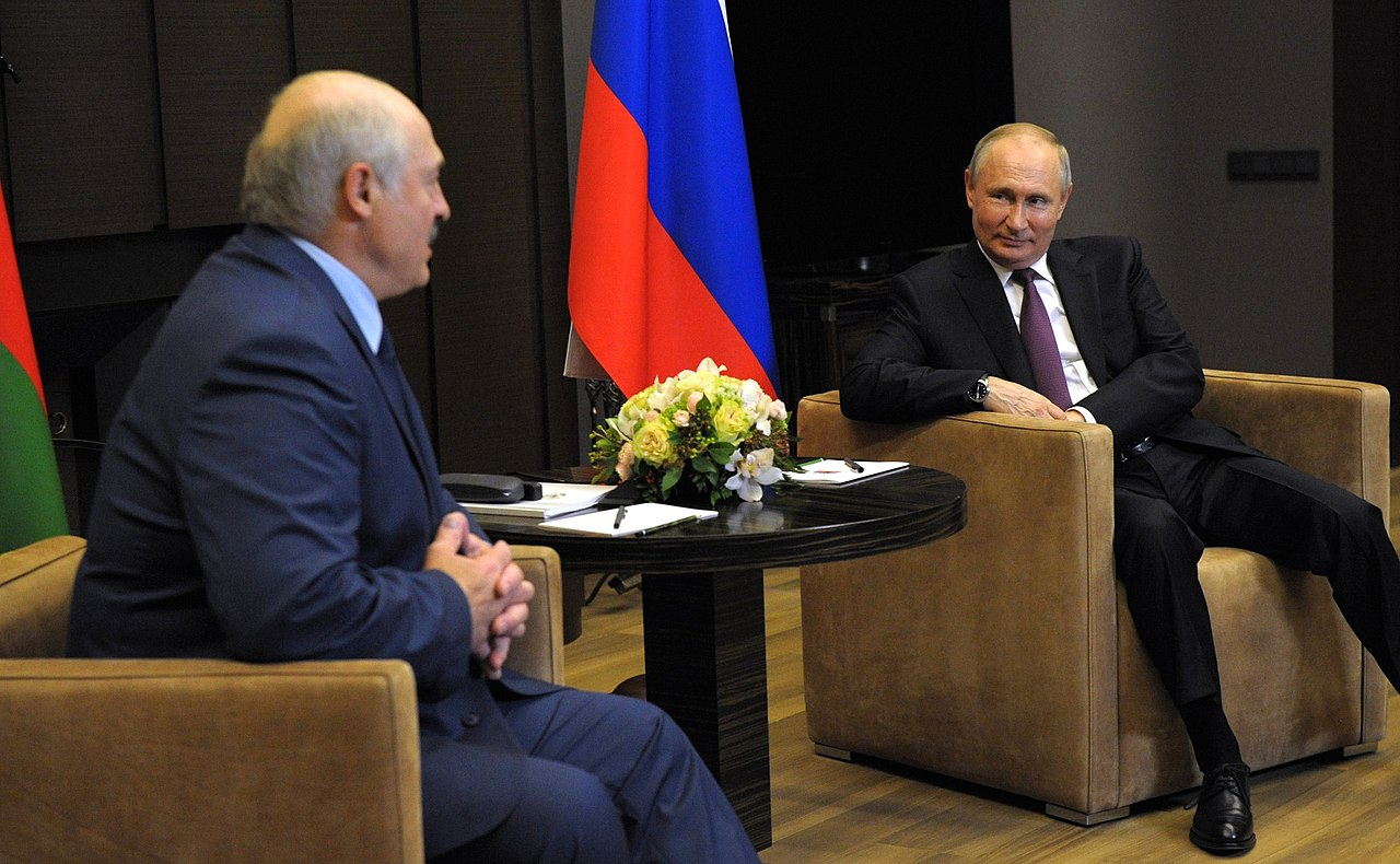 Meeting of Vladimir Putin and Alexander Lukashenko 01 (28-05-2021).jpg