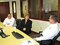 Meeting with a small business in Houghton (6881385597).jpg