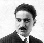 Iranian prime minister Mehdi Bazargan was an advocate of democracy and civil rights. He also opposed the cultural revolution and US embassy takeover. Mehdi Bazargan.jpg