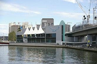 Sea Life Melbourne Aquarium - Sea Life Melbourne Aquarium view from the Queen's Bridge, before the rebranding