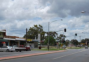 Melton South, Victoria - Shopping strip, Exford Road