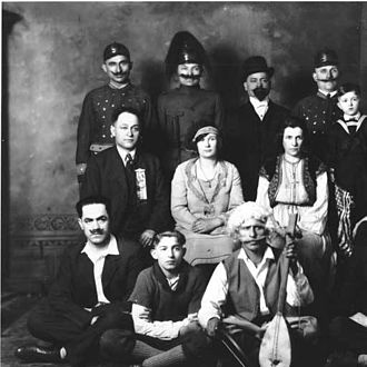 Serbian Americans - Members of the Serbian Society in Juneau in 1928