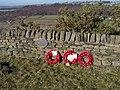 Memorial, Ivy Millennium Green, Green Moor, near Wortley - geograph.org.uk - 1750731.jpg