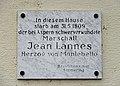 Memorial plaque Jean Lannes, Vienna.jpg
