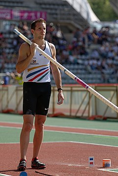 Men pole vault French Athletics Championships 2013 t173743.jpg