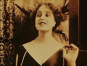 Pina Menichelli - Menichelli in Tigre Reale (1916).